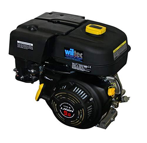 baratos y buenos Motor de gasolina WilTec LIFAN 177, 6,6 kW (9 CV), motor de kart de 25 mm calidad