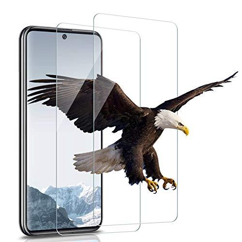 Bodyguard Lot de 2 films de protection d'écran en verre blindé pour Samsung Galaxy A71 Transparent 9H HD Verre trempé anti-rayures, anti-traces de doigts, compatible avec Samsung A71
