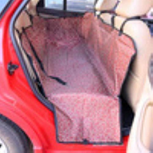 Hummla Pet Dog Cat Mat Coperta Tappetino per Auto Impermeabile Oxford Amaca Coprisedile per Auto Coprigambe per Auto Coprimaterassi per la casa Protezione per Sedile Viaggi, Rame Rosso, L