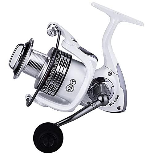 1000-7000 Spinning Pesca Reel Carrete de Metal Bobina Carpa Carrete All For Sea Rod Accesorios Accesorios LUSE DESPUÉS DE SUFF DESFLINGING (Spool Capacity : 2000 Series)