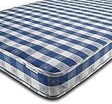 Genie Beds - Colchón individual Lucy Economy Sprung de 90 cm x 190 cm