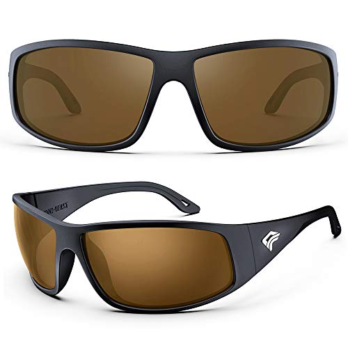 TOREGE Sport Polarized Sunglasses for Men and Women...