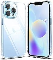 Ringke Fusion Compatibel met iPhone 13 Pro Case, Anti-Vingerafdruk Doorschijnend Schokbestendig Bumper Hoesje - Matte Clear