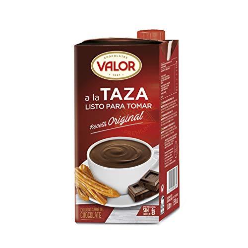 Chocolates Valor - A la Taza Listo para tomar - 1 L - [Pack de 3]