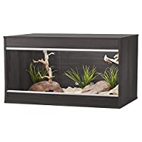Larger rails - allows deeper substrate and less obtrusive lighting installation Cable access holes for up to 3 cables each side No exposed chipboard on vivarium floor - no mites or moisture can access the vivarium Easy vent ventilation system at the ...