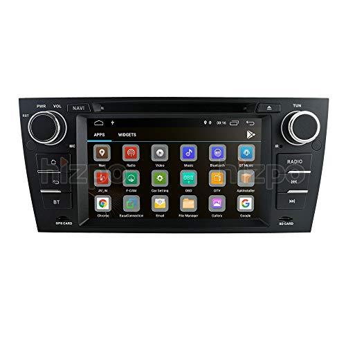 Estéreo para automóvil Pantalla táctil de 7 Pulgadas Navegación GPS para automóvil Vehículo Reproductor de DVD/CD para BMW Serie 3 E90 / E91 / E92 / E93 2006 2007 2008 2009 2010 2011 2012