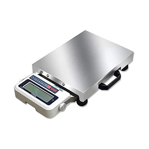 YZSHOUSE Escala Postal Exprés Portátil, Báscula De Plataforma Electrónica Comercial De La Profesión del Acero Inoxidable (Size : 300kg/20g)