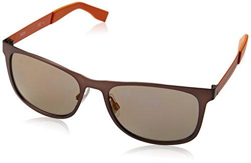 Boss Orange BO 0244, Gafas de sol Unisex - Adulto, Negro, 54 mm
