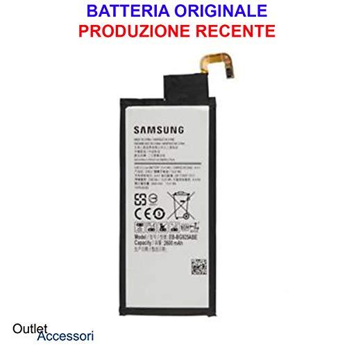 Batería interna compatible para Samsung Galaxy S6 Edge G925 G925F SM EB-BG925ABE EB-BG925ABA año 2018 recambio para móvil