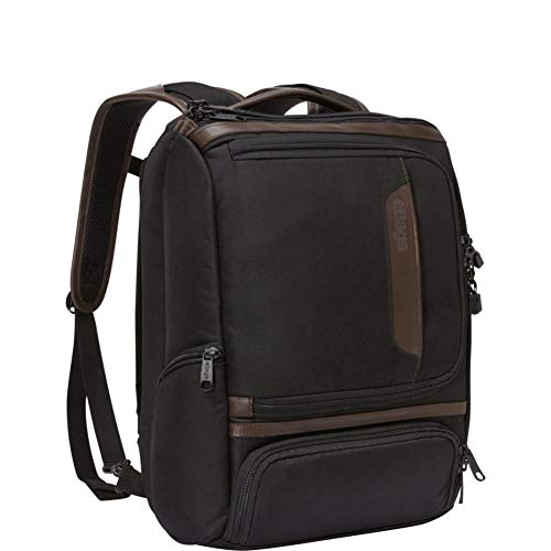eBags Professional Slim Junior Laptop Backpack with Leather Trim for Travel, School & Business - Fits 15.75 Inch Laptop - Anti-Theft