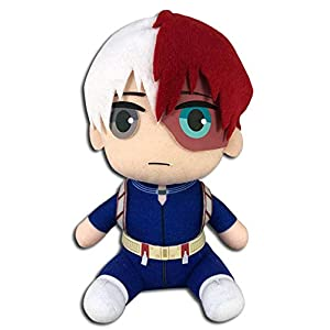 Great Eastern Entertainment My Hero Academia - Shoto Todoroki Hero Costume Sitting Plush 7'' - 41Q70BbHoqL - Great Eastern Entertainment My Hero Academia – Shoto Todoroki Hero Costume Sitting Plush 7""