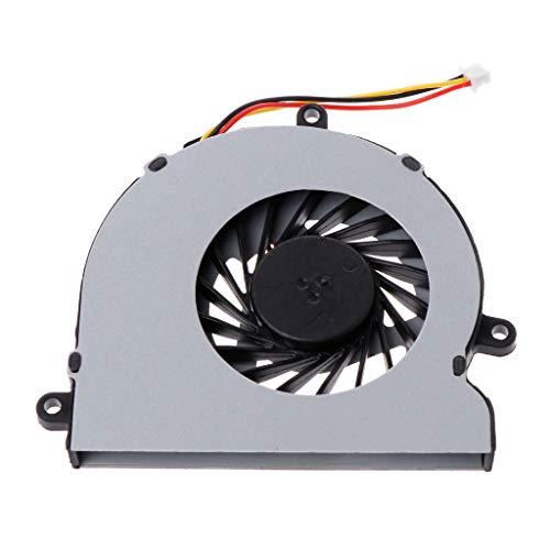 Meipai OEN Ventilador de refrigeración, reemplazo del enfriador de CPU para computadora portátil, 3 pines EF60070S1-C140-G9A Compatible para De-ll Inspiron 15r 3521 3721 5521 5535 5537 5721 74x7k