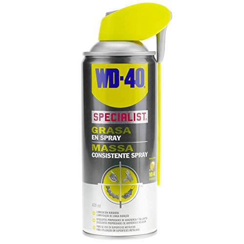 WD-40 Specialist - Grasa En Spray - Pulverizador Doble Spray 400 ml