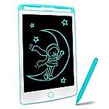 Richgv® Tablette d'écriture LCD 8.5 Pouces avec Stylo, Tablette Dessin Portable Numérique Ewriter et Le Dessin sans Papier, Jeu pour Enfant(Bleu)…