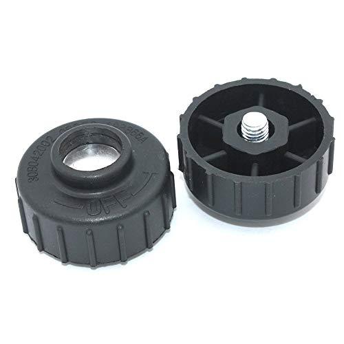 2Pack Right Hand Thread Spool Retainer Bump Knob For Ryobi Homelite Toro John Deere Greenmachine MTD Mcculloch Trimmer head 308042002 UP04273 DA98866A JA993030 UP04273A A98866A MC-9228-331011