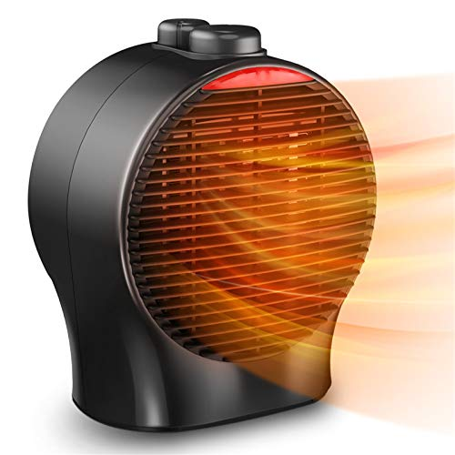 Small Space Heater - Electric Heater Fan Portable Ceramic Heater W/ Thermostat Tip-Over & Overheat...