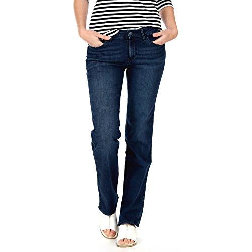Wrangler Damen Straight Leg Jeanshose SARA NARROW,...
