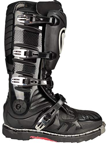 Stivali per moto da cross enduro quad con protezione anti torsione della caviglia (numeric_41)