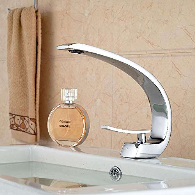 CZOOR Waschbecken Wasserhahn Deck Montieren Helle Chrom Waschtischmischer Wasserhhne Kreative Heie Kaltwasser Kran Mischer