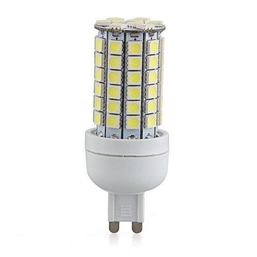 SODIAL(R) G9 8W 69 LED 3528 SMD Lampara Bombilla Foco 6500K Luz Blanco AC 220V