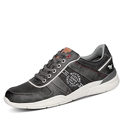 MUSTANG Herren 4138-307 Sneaker, Stein, 41 EU