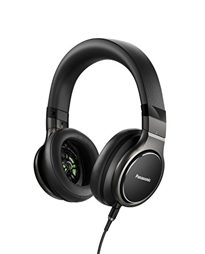 Panasonic Sealed dynamic stereo headphones high-resolution black corresponding RP-HD10-K