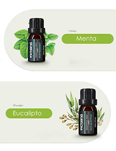 VicTsing 6*10ml Aceites Esenciales para Difusor,100%...
