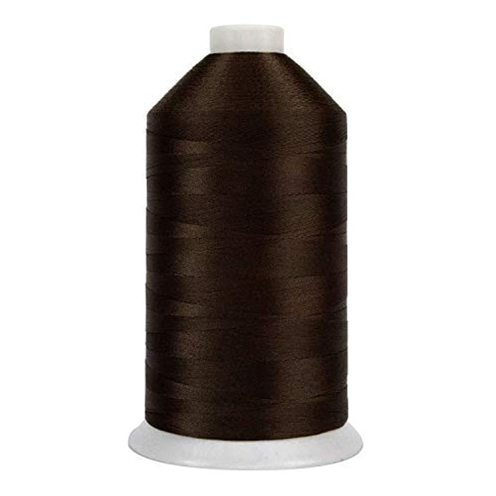 Superior Threads - Bonded Industrial Polyester Thread for Upholstery and Marine Sewing, 92-004 Brown