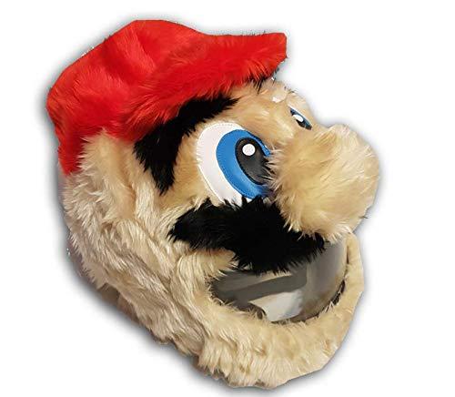 Couvre-casque de moto Mario