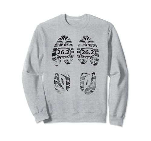 Marathon Runners Gifts – 26.2 Chaussures de course Sweatshirt