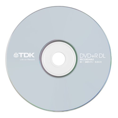 Tdk Dvd R Double Layer 8 5Gb Jc Conf 10