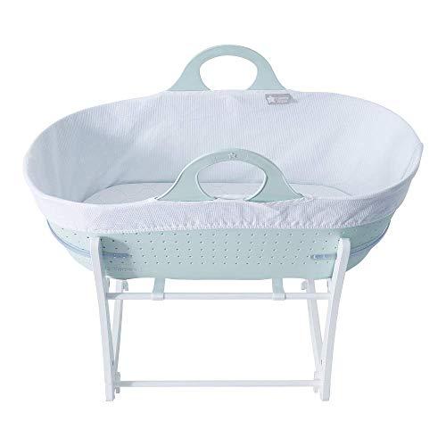 Tommee Tippee Cuna Moisés para bebé Sleepee y base, verde