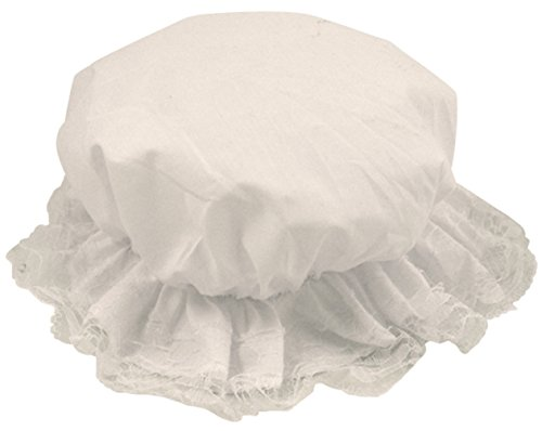 Filles pour Enfants Blanc Pauvre Femme de Chambre Victorien Servante Costume Déguisement Charlotte Chapeau