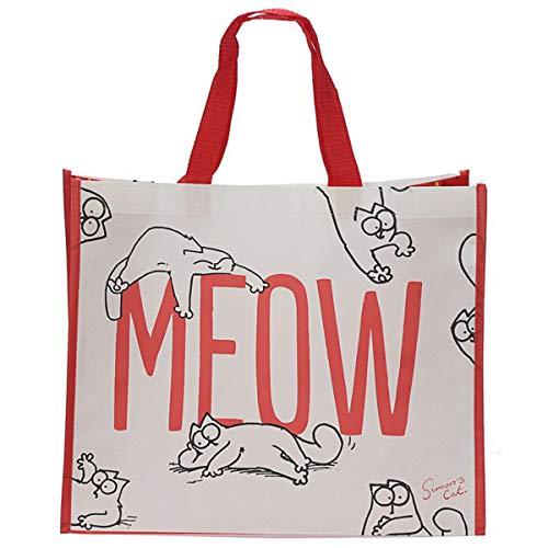 Shopping Bag Einkaufstasche aus Polypropylen Simon\'s Cat MEOW