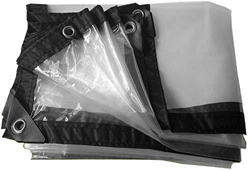 Transparente Plane Regenschutz Wasserdicht Staubdicht Hochleistungs - Universal Clear Tarp Sheet 120G / m² Auto Bootsdach Regenschutz