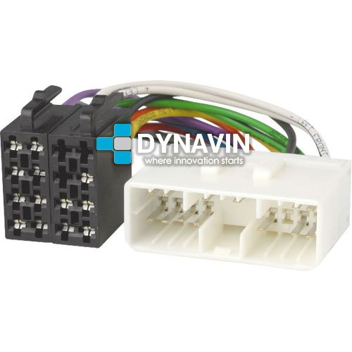 ISO-SY.2002 Connecteur ISO universel pour installer radios sur Ssang Yong, Daewoo, Suzuki