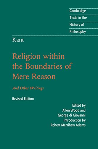 Kant: Religion within the Boundarie…