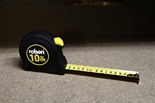 Rolson 50569 10m x 25mm Tape Measure