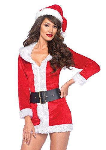 Leg Avenue - Set per travestimento da Babbo Natale Donna