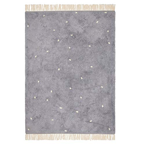 Little Dutch RU10110140 Teppich mit Punkten Pure blau 170x120 cm