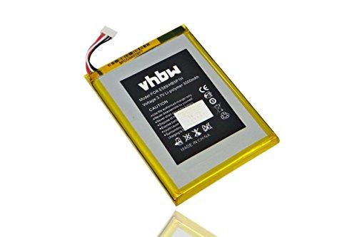 vhbw Li-Polymer Akku 3000mAh (3.7V) für mobiler Hotspot WiFi Router Telekom Speedbox LTE Mini, Speedbox LTE+ Mini wie HB5P1H.