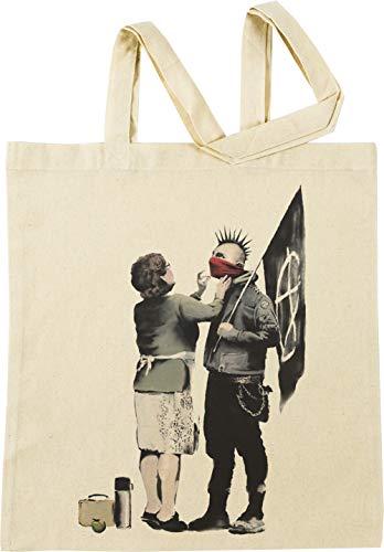 Vendax Anarchie Beige Einkaufstasche