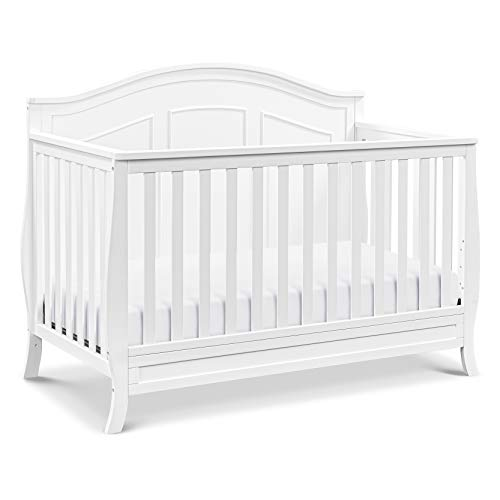 DaVinci Emmett 4-in-1 Convertible Crib in White, Greenguard Gold Certified