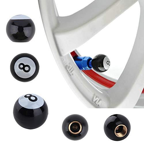 El casquillo de válvula universal 8pcs bicicletas for completar un ciclo de camiones bicicletas piscina 8 Válvula de bola de aire del neumático del tallo Caps Llanta Nueva caliente Dropshipping Venta