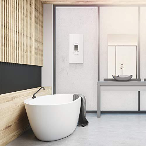 Bosch elektronischer Durchlauferhitzer Tronic 8500, 24/27 kW, Übertisch, druckfest mit AquaStop, 2-in-1 Leistungsumschaltung und Multifunktionsdisplay - 2
