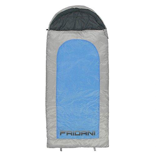 FRIDANI BB 180 K Short – Couvertures de Couchage, 180 x 80 cm, 1700 g,-15 °C (ext), 0 °C (Lim), 5 °C (Comf)