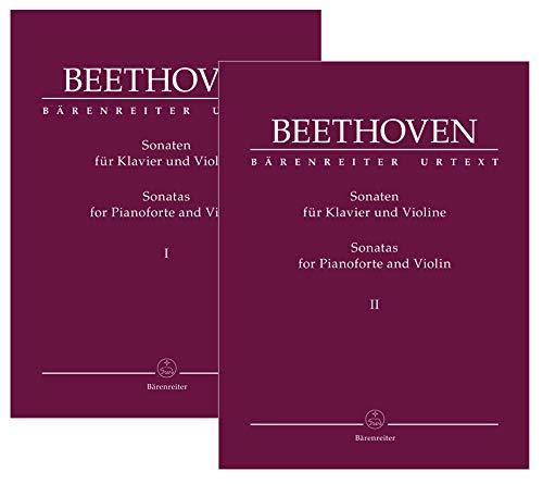 Sonatas for Pianoforte and Violin Complete Volumes I & II