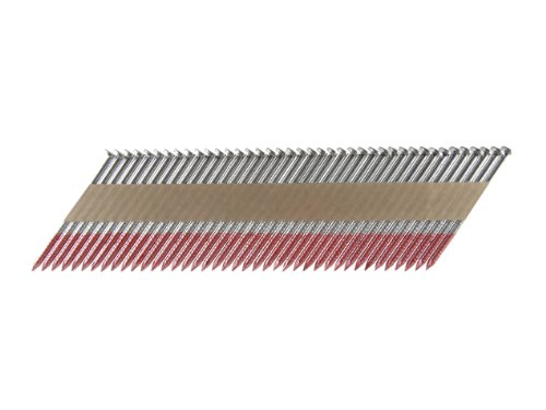 B&C Eagle A238X113HDR/33 Offset Round Head 2-3/8-Inch x .113 x 33 Degree Hot Dip Galvanized Ring Shank Paper Tape Collated Framing Nails (500 per box)