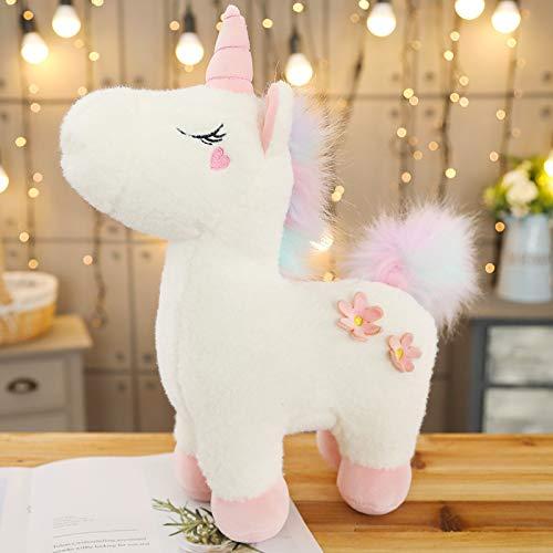 JYZ Juguete de Peluche de Unicornio, Juguetes Un Juguete de Peluche Utilizado para Regalos de muñecos de Peluche, cumpleaños, Navidad o el día de San Valentín