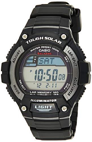 Casio Men's WS220-1A Tough Solar Digital Sport Watch